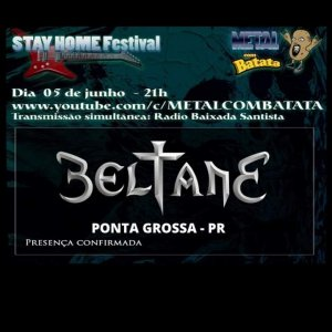 "BELTANE: Confira a performance da banda no ""Stay Home Festival"""