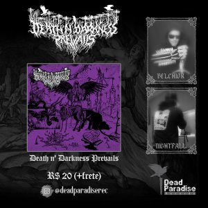 "DEATH N' DARKNESS PREVAILS: ""In the Name of Lust and Sin"" já está disponível, adquira agora!"